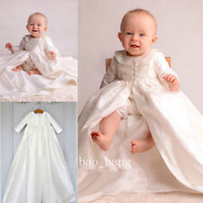 Baby Boy Pant Outfits Baptism Gowns Christening Dresses Long Sleeve Size 0-24M
