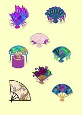 Oriental Applique Fans Machine Embroidery Designs CD-16 Anemone Embroidery Des