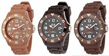 Ice Watch Chocolate Men's Big Silicone Watch