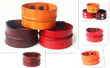 Wholesale lots Real Leather Bracelet New Styles Printing Charm Bangles Nl010-12
