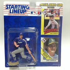 1993 Starting Lineup SLU MLB Jose Canseco Texas Rangers action figure BC