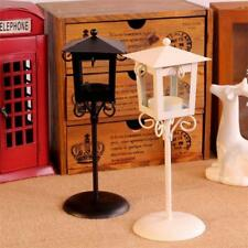 Metal Street Lamp Post Wedding Table Centrepiece Candle Tea Light Holder Decor