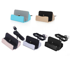 For iphone6 Plus 5s 5 USB Charger Dock Base Sync Data Charging Seat Stand Cradle