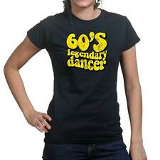 60s Dancing Dance Funny Party Ladies T shirt Tee Top T-shirt