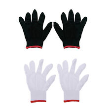 12 Pairs Nylon Safety Coating Work Gloves Builders Grip Protect S M L LAUS