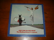 The Rolling Stones in Concert 'Get Yer Ya-Ya's Out' Vinyl LP Record London NPS-5