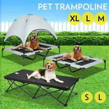 Heavy Duty Pet Dog Bed Trampoline Hammock Bed Frame Cat Puppy Cover S M L XL
