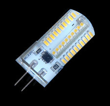 10 Dimmable G4 80-3014SMD LED Light BULB 3.5W 350LM 110/240V Silicone White/warm