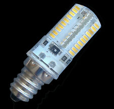 Dimmable E12 80-3014SMD LED Light BULB 3.5W 350LM 110/240V Silicone White/warm