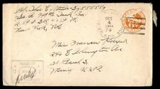 1944 APO 79 censored cover to St. Paul Minnesota October 4