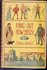 RING OUT BOW BELLS by CYNTHIA HARNETT 1953 First Edition