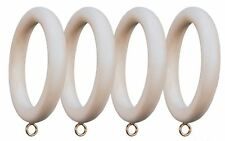 Menagerie Compatible Smooth Drapery Curtain Ring Set of 4