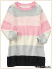 NWT Gymboree Kid Girl STARRY NIGHT 4 5 Multicolor Striped Sweater Dress NEW