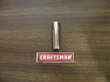 """NEW CRAFTSMAN 1/4"""" Drive Dr - SAE Inch in DEEP SOCKET 12pt Point 12pt  ANY SIZE"""