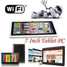 """7"""" HD Google Android 4.4 Tablet PC 8GB WIFI Quad Core Dual Camera US STOCK LOT"""