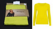 M&S Ladies Heatgen Thermal Long Sleeve Round Neck T-Shirt Top Size 8 10 12 16