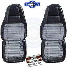 70 Charger 500 RT Front Seat Covers Upholstery Cloth New PUI