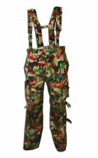Swiss Army Alpenflage Pants / Bibs ( Choice of Size ) Military Surplus