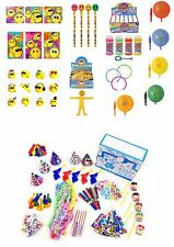 SMILEY FACE THEMED PARTY BAG FILLERS FAVOURS BOYS AND GIRLS KIDS NOVELTY GAMES
