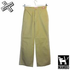 MAMBO GODDESS 'MONDE PARK' WOMENS TROUSERS CARGO CHINO PUTTY UK 8 BNWT RRP £40