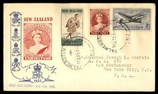 1954 New Zealand Palmerston North Stamp Exhibition FDC