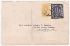 Austria 1922 Cover to Washington DC Henry Temple US Senate