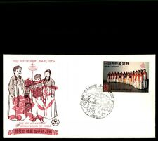 Korea 1973 World Vision Anniversary Cacheted UA FDC