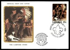 Liberia 1979 Norman Rockwell first-day cover Boy Scouts