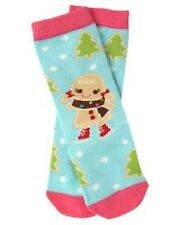 "NWT Gymboree SIZE 0-6, 6-12 Months ""WINTER CHEER"" Gingerbread Girl Knee Socks"