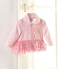 Mud Pie Baby VELOUR COAT 361023 Pretty In Pink Collection