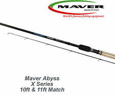 Maver Abyss X Series Match Fishing Rod 10ft, 11ft & 12ft Carbon Cork Handle
