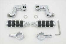 Chrome Offset Footpeg Kit,for Harley Davidson motorcycles,by V-Twin