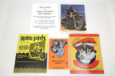 WL & WLA Manual Set,for Harley Davidson motorcycles,by V-Twin