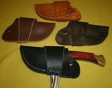 """Quick Draw Sheath """"HANDMADE"""" IN USA for Buck 110,Schrade LB7 or 5"""" Folding Knife"""