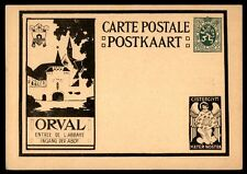 Belgium classic postal stationery card illustrated mint Mater nostra