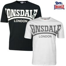 Lonsdale Men'S T-shirt York Men Tee Shirt Boxing London S M L XL XXL 3XL NEW