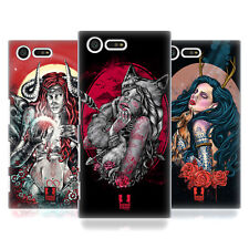 HEAD CASE DESIGNS TATTOOED DOLLS HARD BACK CASE FOR SONY XPERIA X COMPACT