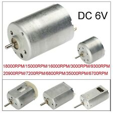 1500-35000RPM 6V High Torque DC Mini Electric Motor For DIY Toys 2mm Diameter