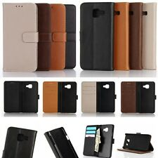 Wallet Leather Card Holder Flip Folio Magnet Case Cover Pouch For SAMSUNG PHONE