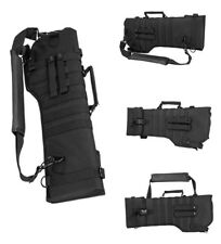 Tactical Deluxe Ambidextrous MOLLE Protective Rifle Shotgun Carry Case Scabbard