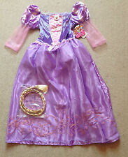 DISNEY Princess Tangled Rapunzel Fancy Dress Dressing Up Costume 7-8 years NEW