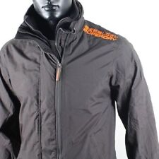 Superdry Men'S Technical Windcheater Jacket anthracite orange Size XL-XL-L-M-S
