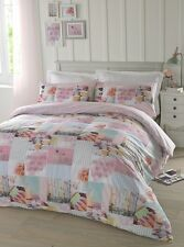 Girls Pink Bedding Duvet Cover Set - Pretty Pastels by # Hashtag Bedding