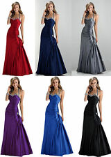 2017 Sexy evening prom bridesmaid dress Party Gown Stock Size 6 8 10 12 14 16 .