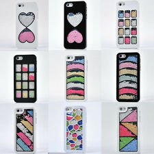 Luxury Bling Crystal Diamond Rhinestone Hard Case Cover For Iphone 4 4S 5 5S 5C