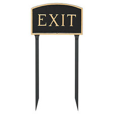 Montague Metal Products Inc. Large Arch Exit Statement Garden Sign