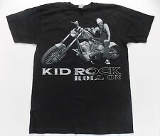 Kid Rock- NEW Roll On Photo Concert Tour T Shirt (S,M) FREE SHIPPING TO U.S.!