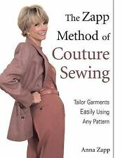 The Zapp Method of Couture Sewing by Zapp $3ship