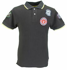 Wigan Casino Brown Northern Soul Mod Multi Badged Polo Shirts …