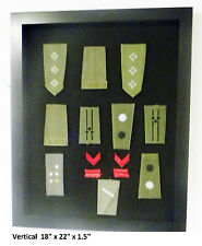 Patches Display case / Millitary / Police / Horses Patches Shadow box Cabinet SM